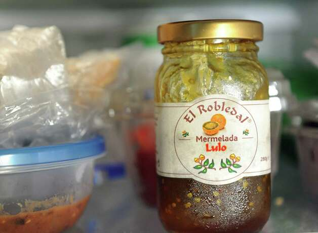 A unique item in Philip Morris' fridge is Mermelada Lulo on Wednesday, Aug. 12, 2015, at his home in Rotterdam, N.Y. (Cindy Schultz / Times Union) Photo: Cindy Schultz / 10032874A