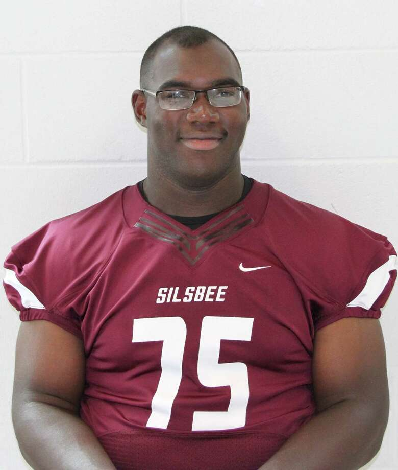 Patrick Hudson, SilsbeePosition: OL/DL Height: 6-5 Weight: 320 pounds Grade: Senior The Baylor commit bench presses 735 pounds and runs 4.9, which should allow him to dominate both sides of the ball. Photo: Enterprise Staff