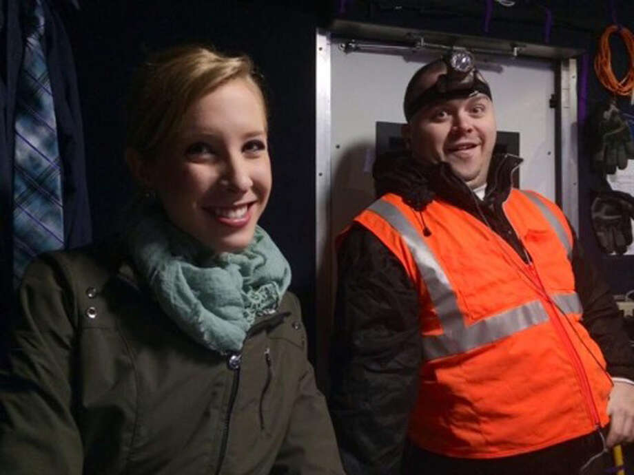 This undated photograph made available by WDBJ-TV shows reporter Alison Parker, left, and cameraman Adam Ward. Parker and Ward were fatally shot during an on-air interview, Wednesday, Aug. 26, 2015, in Moneta, Va. Authorities identified the suspect as fellow journalist Vester Lee Flanagan II, who appeared on WDBJ-TV as Bryce Williams. Flanagan was fired from the station in 2013. (Courtesy of WDBJ-TV via AP)  Photo: Associated Press / WDBJ-TV