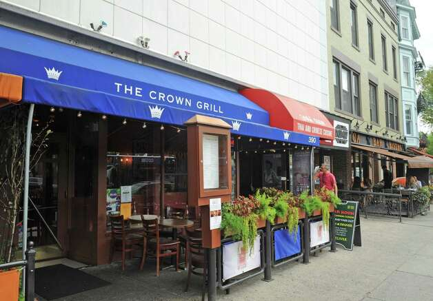 The Crown Grill on Wednesday Aug. 26, 2015 in Saratoga Springs, N.Y. The MacLeans are selling one of their other Saratoga establishments, Crown Grill, to focus more effort on their high-end juice business. (Michael P. Farrell/Times Union) Photo: Michael P. Farrell / 00033131A
