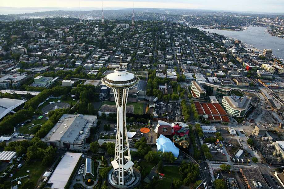 The Space NeedleLocated: Seattle, WashingtonHeight: 605 feetYear completed: 1961Click through the gallery to see other towers around the world similar to the Space Needle. Photo: JOSHUA TRUJILLO, SEATTLEPI.COM / SEATTLEPI.COM