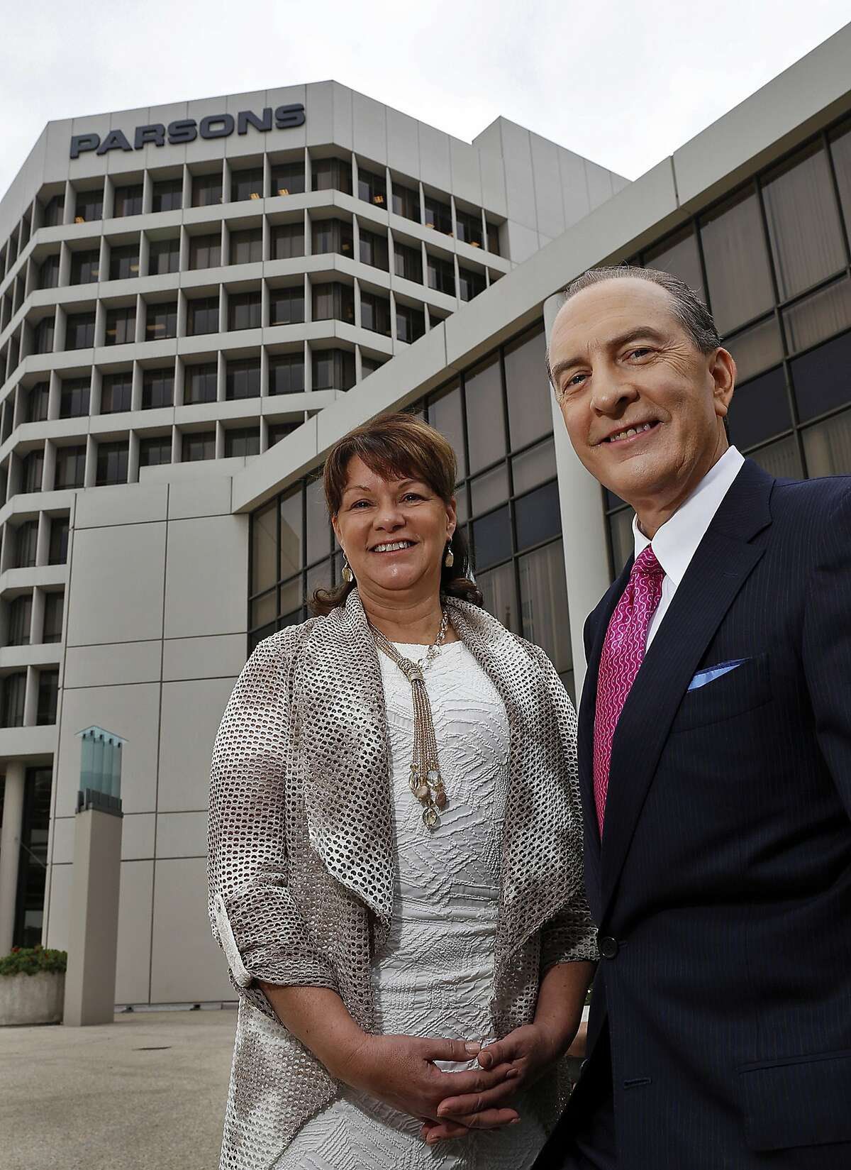 """Parsons Corp. Chief Executive Charles Harrington is preparing his Pasadena, Calif., firm for the age of """"electronic battlefields,"""" recently adding Suzanne Vautrinot, a retired Air Force major general who helped create the U.S. Cyber Command, to the board of directors. (Al Seib/Los Angeles Times/TNS)"""