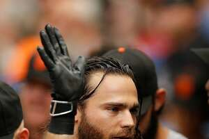 Ouch! More Giants injuries ? Gregor Blanco joins Brandon Crawford in sickbay - Photo