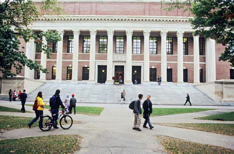 1. Harvard, Cambridge, Mass.: For the 13th year in a row, Harvard remains number one on the Academic Ranking of World Universities. Its total score was 100. Photo: Franz Marc Frei, Getty / Lonely Planet Images
