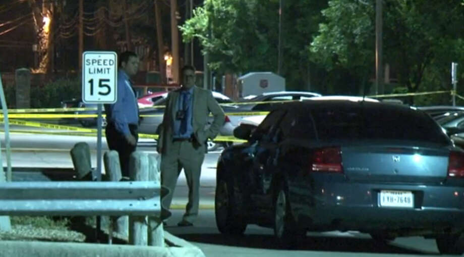 A man was wounded in a shooting Wednesday on the campus of Texas Southern University. The shooting happened outside student apartments on Tierwester and Blodgett. Photo: Metro Video