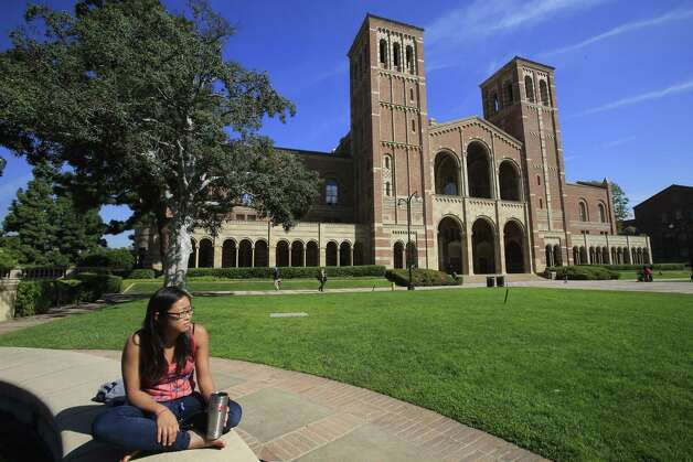 3. University of California Los Angeles -- Crime rate per 1,000: 2.84 Photo: Mark Boster, Getty / 2015 Los Angeles Times