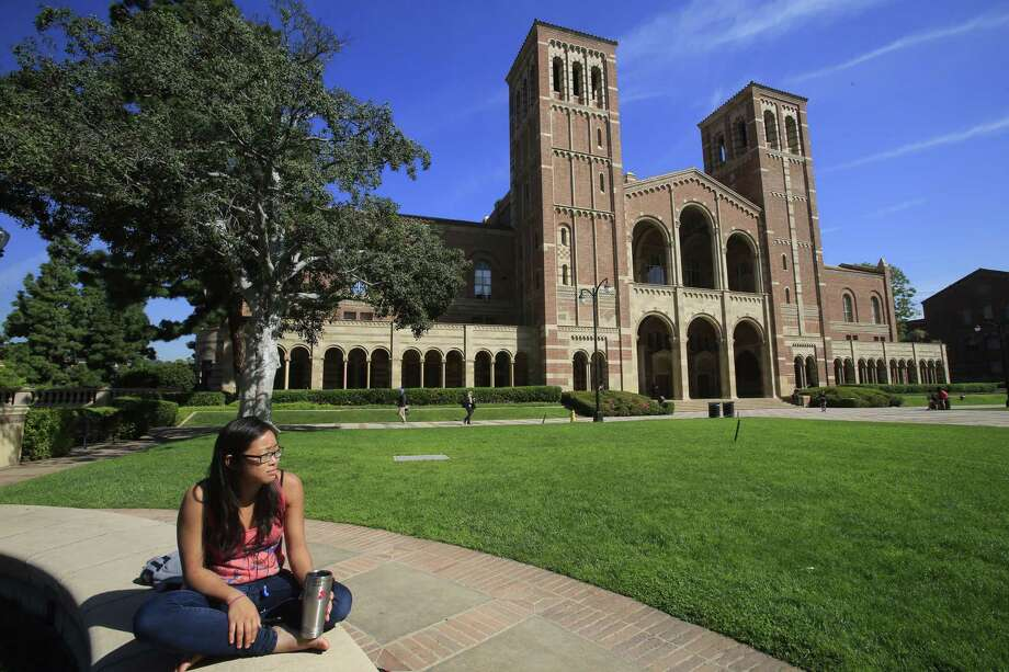 UC acceptance rates 1997-2017  UCLA 1997 - Applied: 29,299      Admitted: 10,648       Acceptance rate: 36.3 percent 2007 - Applied: 50,746      Admitted: 11,960       Acceptance rate: 23.5 percent 2017 - Applied: 102,226      Admitted: 16,456      Acceptance rate: 16.09 percent    Photo: Mark Boster, Getty / 2015 Los Angeles Times