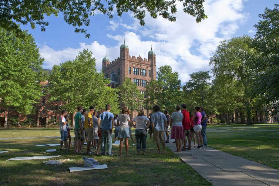 Yale UniversityNew HavenAverage annual cost: $16,743Graduation rate for first-time, full-time students: 97%Salary after attending: $66,000 Photo: Mark Daffey, Getty / Lonely Planet Images
