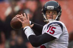 QB hopeful doesn't get the job, MIA from Texans practice - Photo