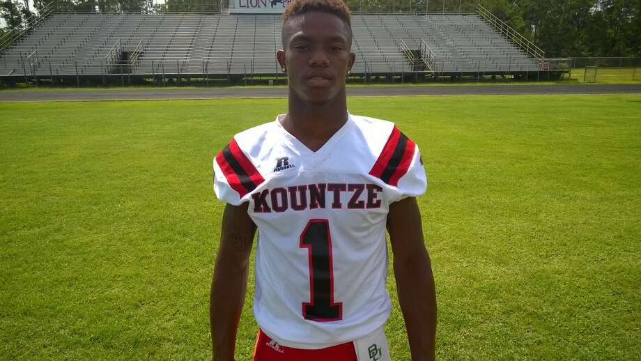 Grayland Arnold, Kountze Position: QB/SS Height: 5-10 Weight: 175 pounds Grade: Senior The dynamic Arnold could play up to six different positions in one game. The Baylor commit accounted for a touchdown in six different ways in 2014. Photo: Enterprise Staff