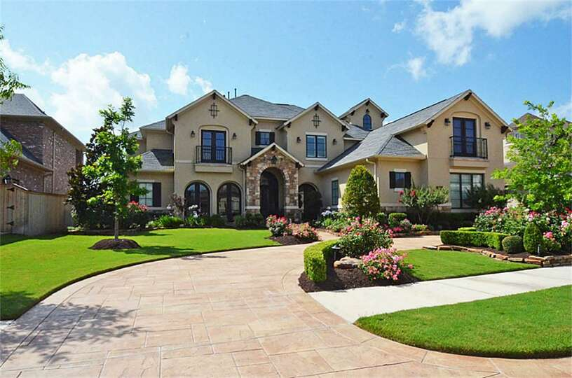 Cinco Ranch This 6 204 Square Foot Home Offers Views Of The Photo Houston