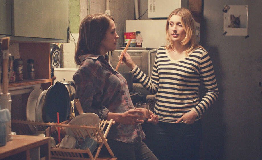 "Lola Kirke, left, stars as college student Tracy opposite Greta Gerwig as the impetuous Brooke in ""Mistress America,"" directed by Noah Baumbach. Photo: HANDOUT, STR / THE WASHINGTON POST"