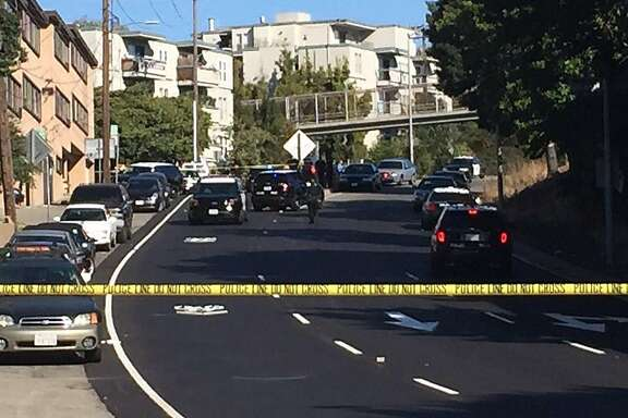 An officer was injured and a suspect was shot by police in Oakland on Thursday morning.