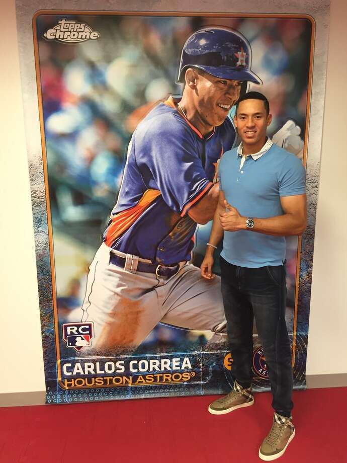Houston Astros Carlos Correa Signs First Endorsement Deal