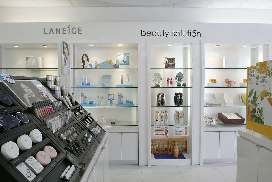 Amore, which carries a full array of beauty products, in Santa Clara's Koreatown. Photo: Liz Hafalia, The Chronicle
