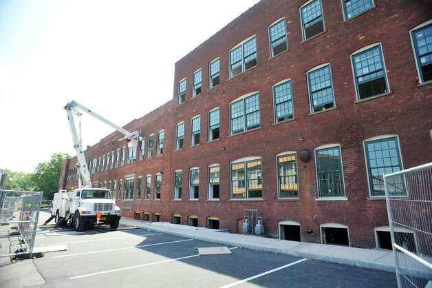 A view of the former Tilley Ladder Co. building on Wednesday, Aug. 19, 2015, in Watervliet, N.Y.  The building is being turned into apartments.   (Paul Buckowski / Times Union) Photo: PAUL BUCKOWSKI / 00033040A