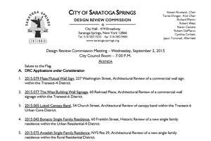 Saratoga design board meets Wednesday - Photo