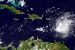 Tropical Storm Erika: Now flooding the Caribbean, but beyond that an uncertain future - Photo