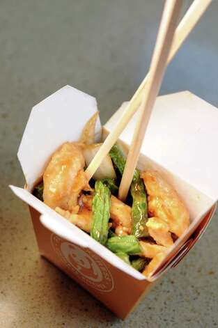 String Bean Chicken served as a single item on Friday, Aug. 21, 2015, at the Panda Express in Latham, N.Y. (Cindy Schultz / Times Union) Photo: Cindy Schultz / 00033076A