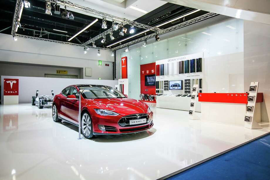 Electric car Telse Model S. Photo: Tesla Motori