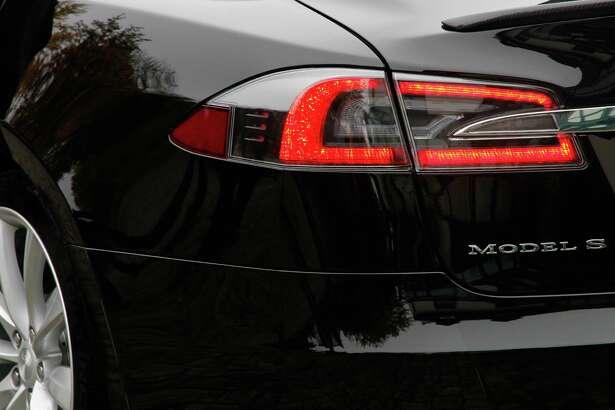 Tesla Model S interior and details.