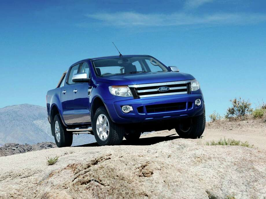 A concept Ford Ranger is shown. Photo: Business Insider
