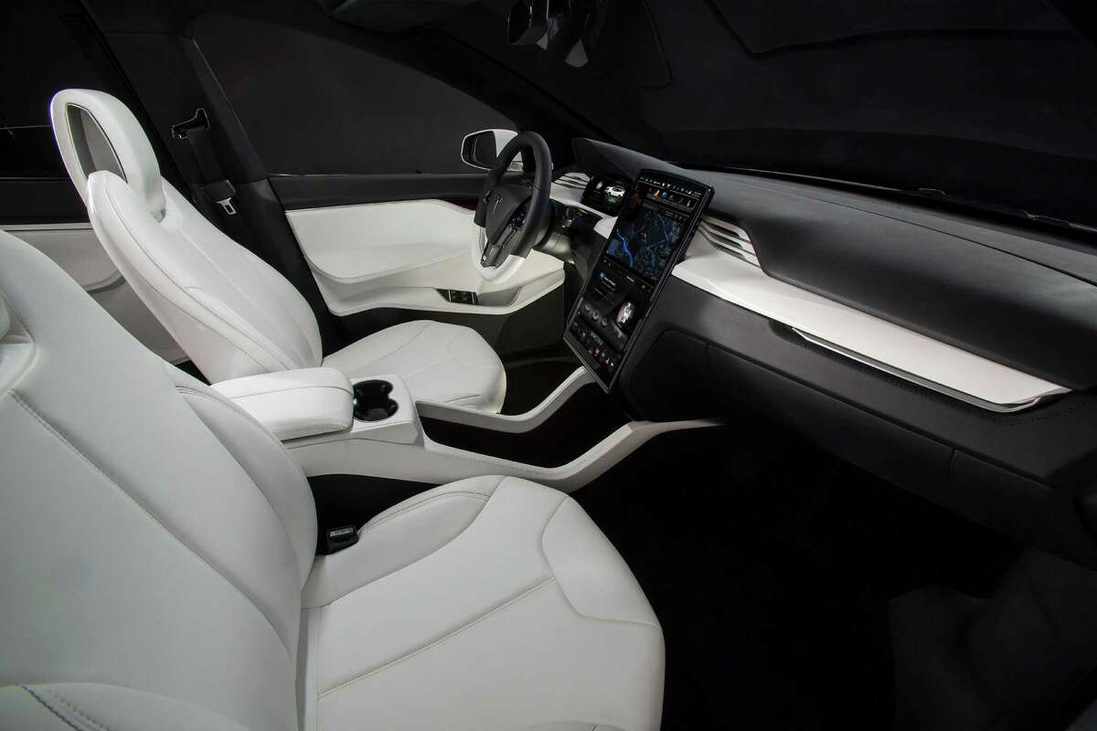 Tesla's Model X electric car.