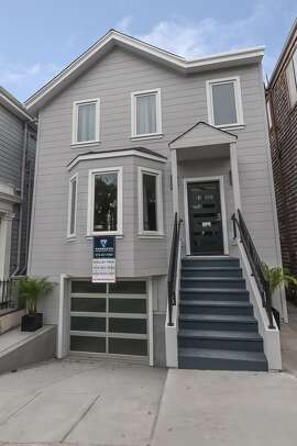 210 Bocana St. in Bernal Heights is a recently remodeled detached four-bedroom home available for $2.195 million.