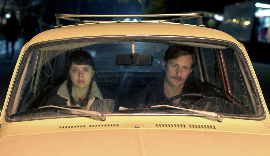 "Bel Powley as Minnie Goetze and Alexander Skarsgard as Monroe in ""The Diary of a Teenage Girl."" Illustrates FILM-TEENAGE-ADV14 (category e), by Ann Hornaday © 2015, The Washington Post. Moved Wednesday, Aug. 12, 2015. (MUST CREDIT: Sam Emerson/Sony Pictures Classics.) Photo: HANDOUT / THE WASHINGTON POST"