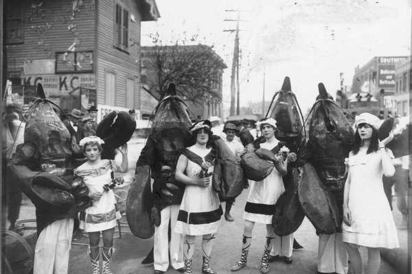 281dcf71dfd 3of52Houstonians wear costumes for the No-Tsu-Oh celebration in the early  1900s. Photo  File