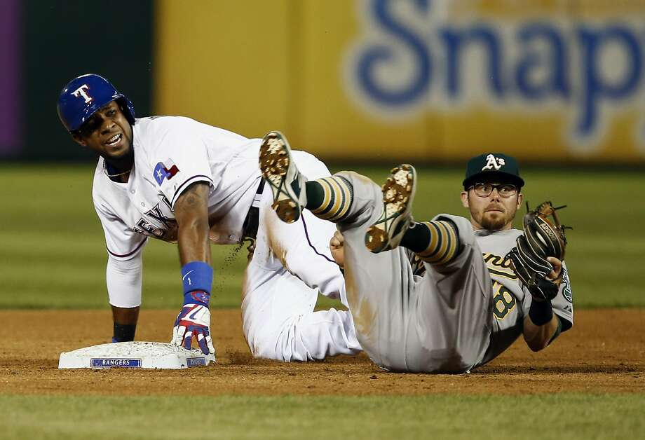 Among the issues the A's have with next year's schedule is the lack of continuity on their trips to play the Rangers and Astros in Texas. Oakland will make 12 trips to the Lone Star state. Photo: Jim Cowsert, Associated Press