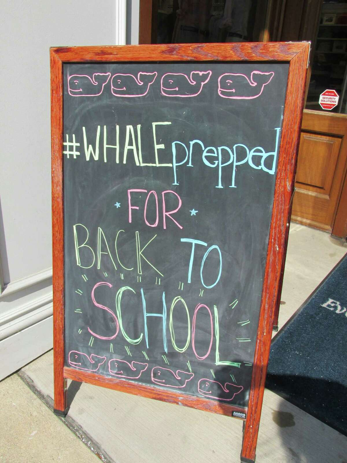 Stamford, Conn.-based Vineyard Vines has sued a Rhode Island company it says is infringing on its pink whale logo.