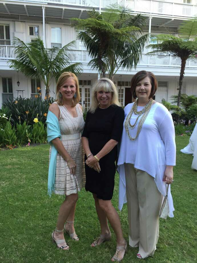 Robin Conner, MTSIR sales manager; Kathy Korte, president and CEO, Sotheby's International Realty Inc.; and Robin Suter, MTSIR sales manager, represented the company at the NRT 2015 President's Council Retreat.