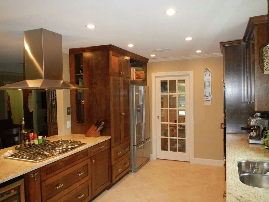 This kitchen renovation was done by Third Coast Builders.