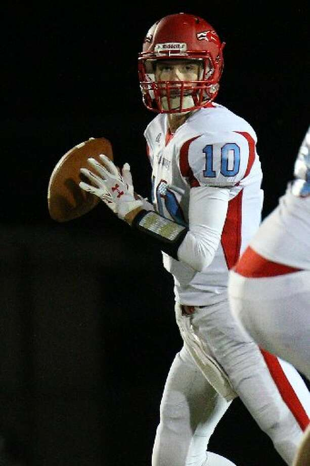 Lumberton's quarterback Stephen Yarbro, who has flown under the radar in recruiting, received his first offer from Louisiana College. Photo: Jake Daniels