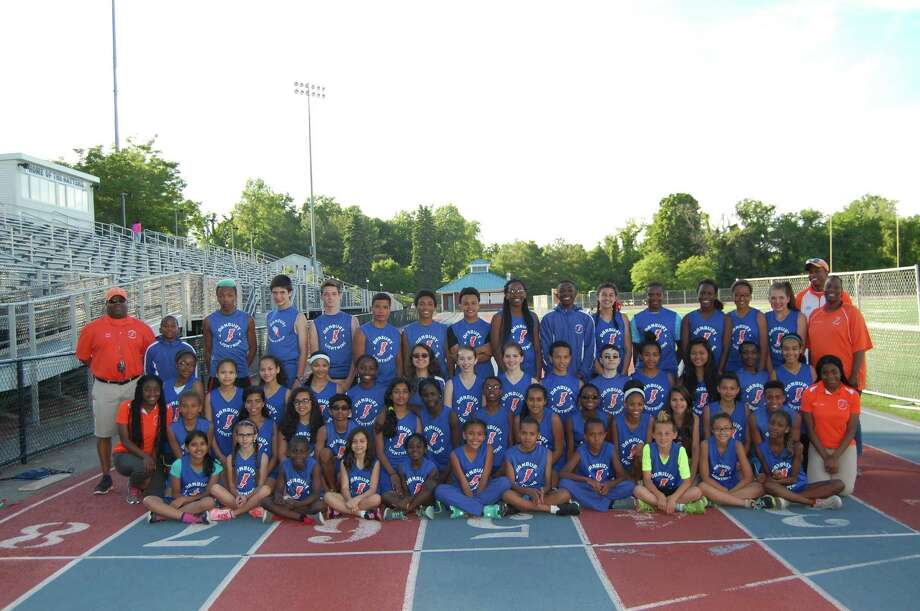DAYO Lightning middle school track and field team 2015. Photo: Contributed / Contributed / Connecticut Post