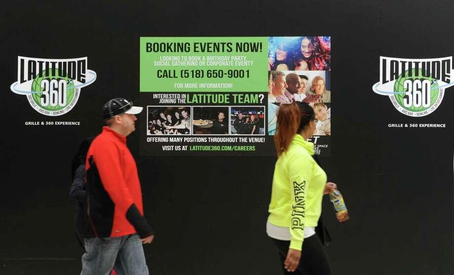 Latitude 360 is still under construction in Crossgates Mall on Thursday, March 19, 2015 in Guilderland, N.Y. (Lori Van Buren / Times Union) ORG XMIT: MER2015071016562080 Photo: Lori Van Buren / 00031037A