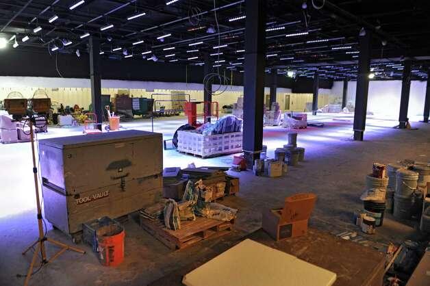The 22 lane bowling alley is still under construction at Latitude 360 in Crossgates Mall on Thursday, March 19, 2015 in Guilderland, N.Y. (Lori Van Buren / Times Union) ORG XMIT: MER2015071016591195 Photo: Lori Van Buren / 00031037A