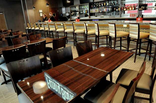 The bar area at the Funny Bone Comedy Club on Thursday, Aug. 27, 2015, at Crossgates Mall in Guilderland, N.Y. (Cindy Schultz / Times Union) Photo: Cindy Schultz / 00033157A
