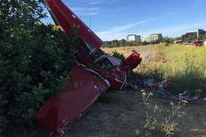 No injuries as small plane crashes near San Carlos Airport - Photo