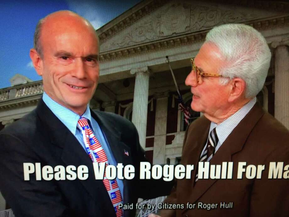 A screenshot of a campaign video Neil Golub, executive board chairman of Price Chopper's parent company, did for Schenectady mayoral candidate Roger Hull in 2011. Neil and Jane Golub recently gave one of their largest political contributions to Hull for his second run against McCarthy in 2015.