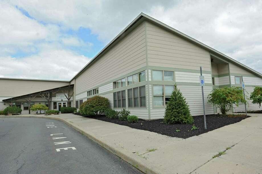 Exterior of Robert C. Parker School on Thursday, Aug. 27, 2015 in Wynantskill, N.Y. (Lori Van Buren / Times Union) Photo: Lori Van Buren / 00033153A