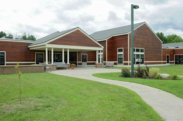 Exterior of Woodland Hill Montessori School on Thursday, Aug. 27, 2015 in Rensselaer, N.Y. (Lori Van Buren / Times Union) Photo: Lori Van Buren / 00033153A