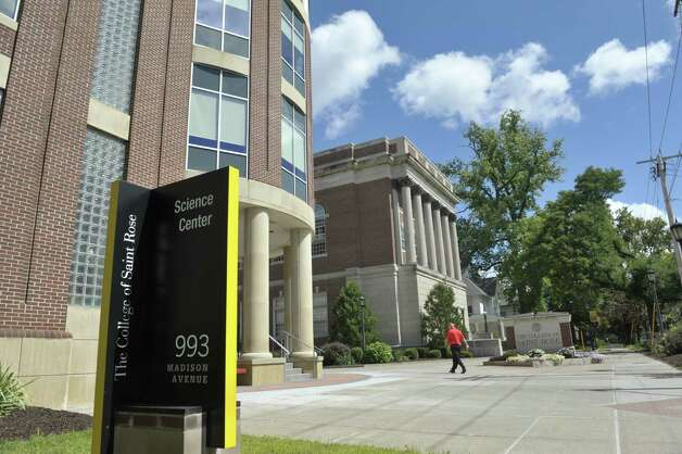 A view of the campus at the College of Saint Rose on Western Ave. Thursday, Aug. 27, 2015, in Albany, N.Y.  (Paul Buckowski / Times Union) Photo: PAUL BUCKOWSKI / 00033154A