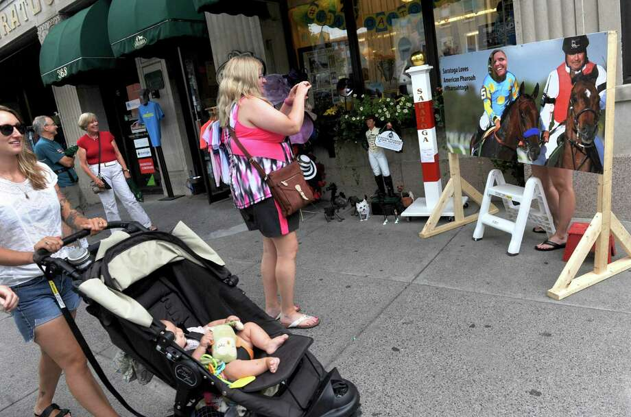 Broadway on Wednesday Aug. 26, 2015 in Saratoga Springs, N.Y.  (Michael P. Farrell/Times Union) Photo: Michael P. Farrell / 00033149A