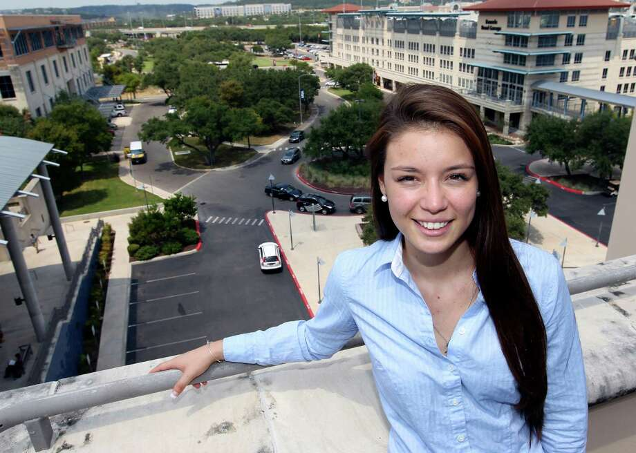 Ileana Gonzales, a 21-year-old UTSA senior seen Thursday afternoon Aug. 27, 2015 on the UTSA campus, will be by far the youngest member of San Antonio's Ethics Review Board. She was recently appointed by city council member Ron Nirenberg, who became committed to involving young people in civic projects after two millennials who took over his grassroots campaign helped him win a city council seat. Gonzales is the UTSA Student Body President Photo: William Luther, Staff / San Antonio Express-News / © 2015 San Antonio Express-News