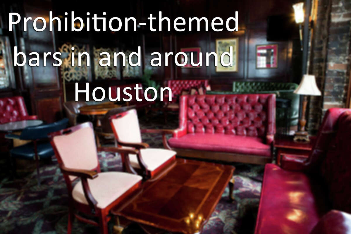 Click to see prohibition-themed bars in Houston.