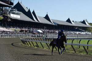 Pharoah phever: Fans swarm track for Triple Crown winner's workout - Photo