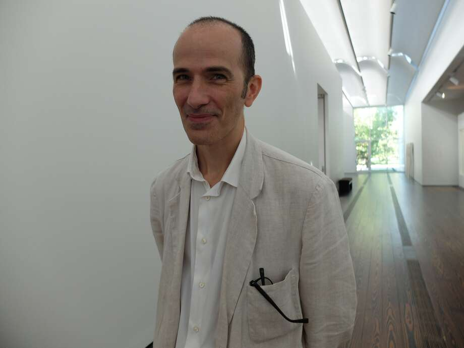 Carpenter Collection curator Sean Mooney at the Menil Collection.