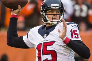 Texans quarterback Ryan Mallett returns to practice - Photo